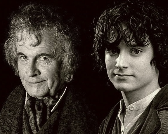 Thought of the Day 9/22/12 Bilbo and Frodo Baggins