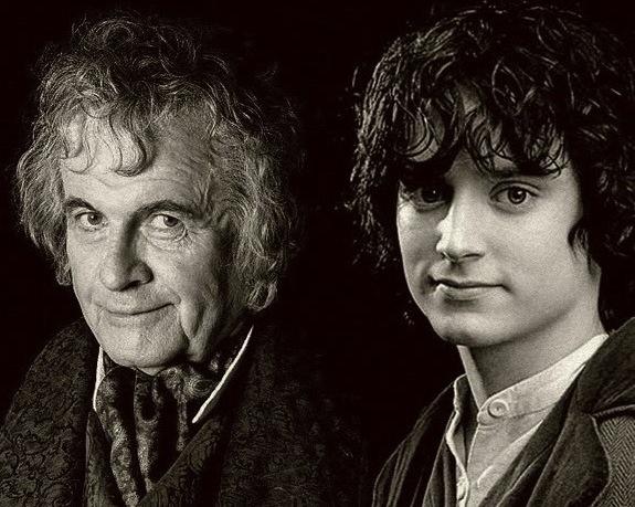 Resultado de imagen de Bilbo y Frodo