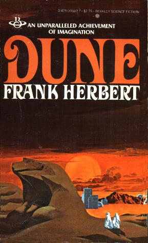 Dune cover art [Image courtesy: Book Wit]