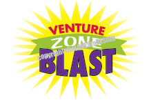 Logo Design: Hereford UMC Venture Zone Blast