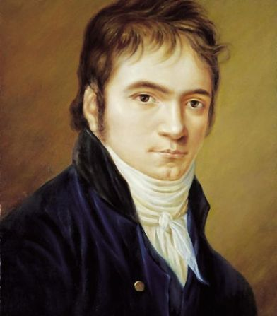 Portrait of Ludwig van Beethoven (1803) by Christian Horneman [Image courtesy: Wikimedia Commons]