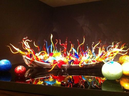 Chihuly boat 1
