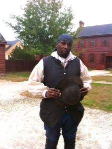 Interpreter at the Payton Randolph house describes what its like to be a slave for one of the richest men in the city.