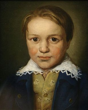 """Ludwig van Beethoven was recognised as a child prodigy. He worked at the age of 13 as organist, pianist/harpsichordist and violist at the court in Bonn, and had published three early piano sonatas. This portrait in oils is the earliest authenticated likeness of Beethoven."" Circa 1782 (Wikimedia commons)"