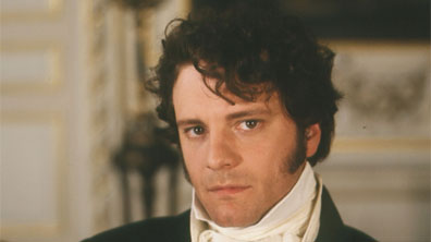 Colin Firth, the ultimate Darcy, starred  in the 1995 series [Image courtesy BBC Home.]