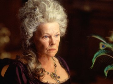 Dame Judy Dench took on the role for the Kiera Knightly movie version of P&P