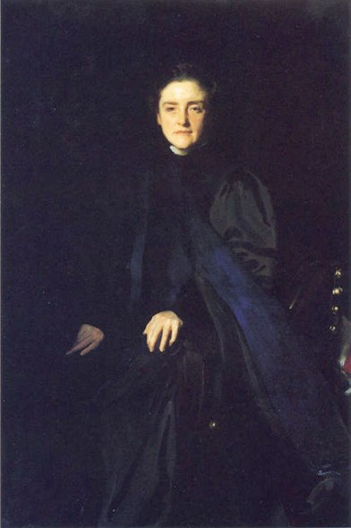 John Singer Sargent's Miss Carey Thomas [Image courtesy Jssgallery.org]