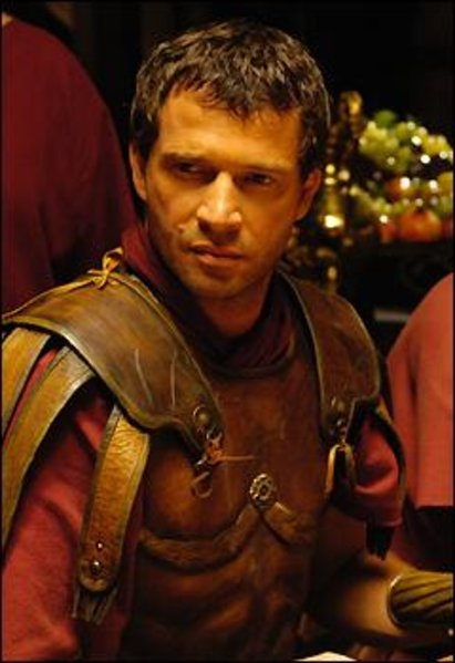 James Purefoy as Antony in the HBO mini series ROME [Image courtesy HBO]