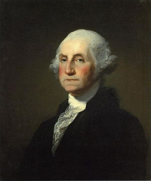 Perhaps the best known image of George Washington is this one done by Gilbert Stuart.