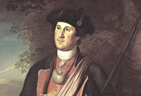 A young George Washington [Image courtesy: The History Channel.]