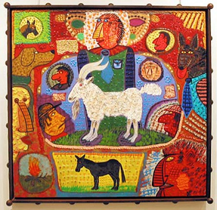 Goat Daze [Image Courtesy: George Adams Gallery.]