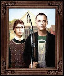 Amy and Sheldon (From the Big Bang Theory)