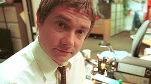 Martin Freeman in the BBC's The Office (Image courtesy the BBC)