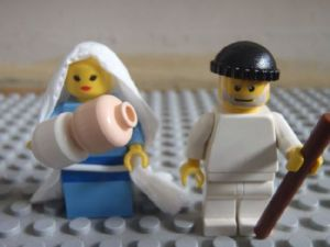 The Holy Family, Lego style