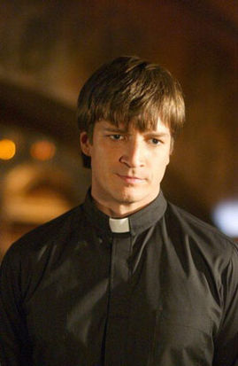 Fillion as Caleb in Buffy the Vampire Slayer. [Image courtesy: Wikipedia]
