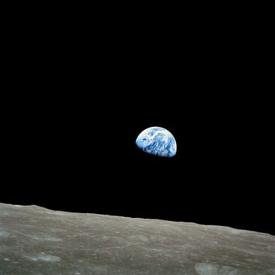 Earth rise taken during Apollo 8 [Image courtesy: NASA]