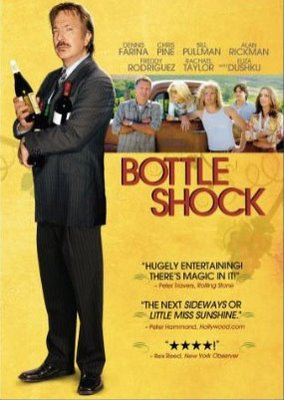 CD cover of Bottle Shock [Image courtesy: 20th Century Fox]