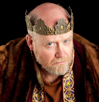 James Keegan as King Henry in The Lion in Winter, 2012. Photo by Michael Bailey. James Keegan as Henry II in last summer's production of The Lion in Winter at the American Shakespeare Center.]