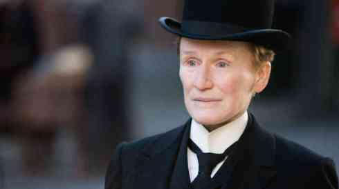 Close as Albert Nobbs (Image courtesy: NPR.com photo by Patrick Redmond.]