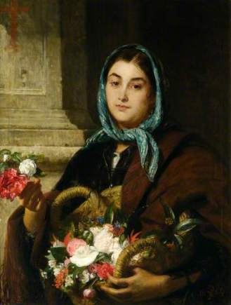 The Spanish Flower Seller (Aberdeen Art Gallery) [bbc.co.uk]