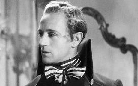 Howard in Scarlet Pimpernel. He was nominated for an Academy Award for the role. [Image courtesy The Telegraph]