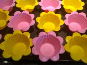 These are my awesome new silicone muffin cups.