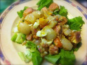 Turnip and Ham Salad