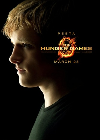 Josh Hutcherson played Peeta in the movie version of the Hunger Games [Image Courtesy: Wikia.com]