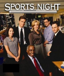 Sports Night cast [Image courtesy: ABC]