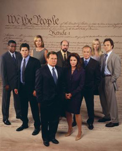 West Wing cast [Image courtesy: NBC]