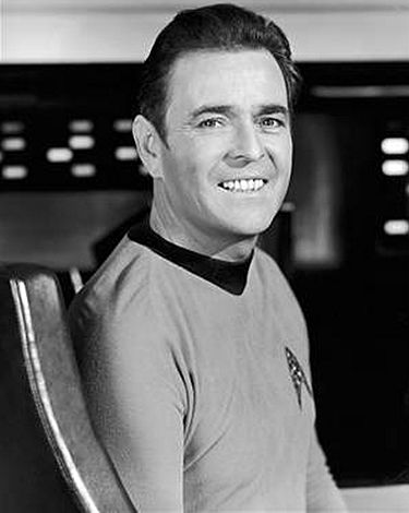 James Doohan as Scotty.  [Image courtesy: Paramount Pictures]