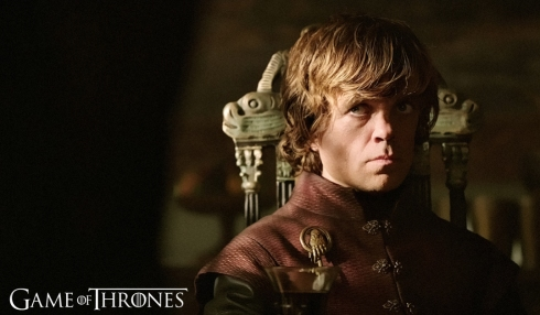 Here's a great promo shot of Tyrion from Season Three. [Image courtesy HBO]
