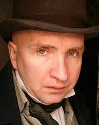 Eddie Marsan  as Mr. Pancks in the BBC adaptation of Little Dorrit [Image courtesy: PBS.org]