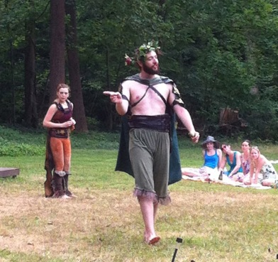 Joel Ottenheimer commands as Oberon