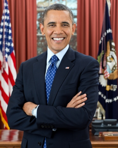 The official presidential portrait of the 44th President of the United States, Barack Obama. [Image courtesy: Whitehouse.gov]