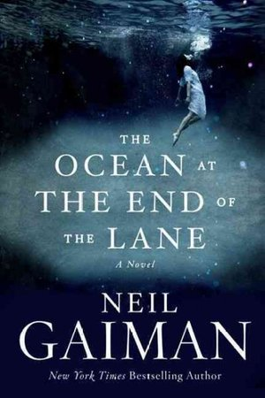 Cover art for The Ocean at the End of the Lane [Image courtesy NPR]