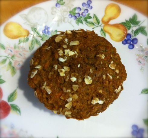 Ginger Carrot muffin