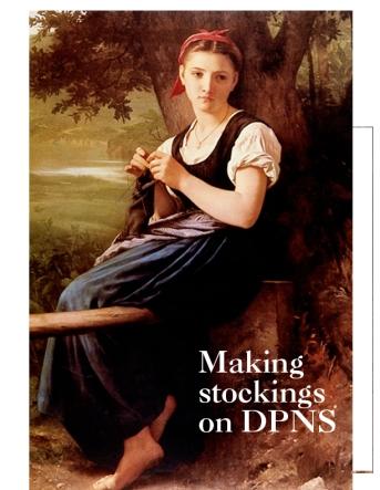 Making Stockings
