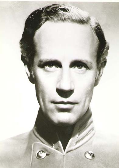 Leslie Howard as Ashley in the 1939 movie version of Gone With the Wind [Image courtesy MGM]