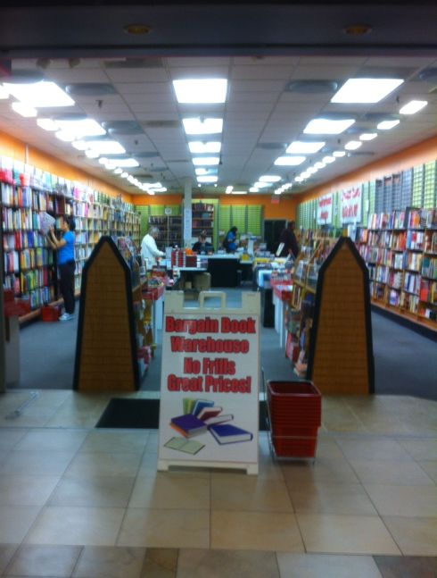 The Bargain Book Warehouse in Harford Mall