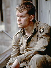 Looking healthier in Saving Private Ryan [ Image courtesy: blogwillhunting.com]