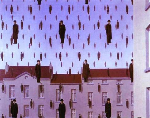 Gonconda, 1953 [Image courtesy: rene-magritte.net]
