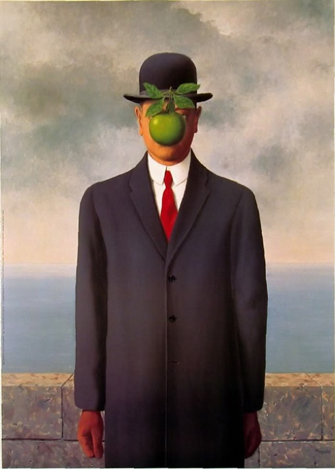 Son of Man [Image courtesy: rene-magritte.net]