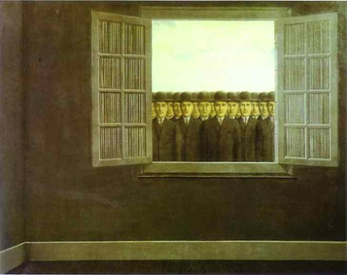 The Month of the Grape Harvest, 1959  [Image courtesy: rene-magritte.net]