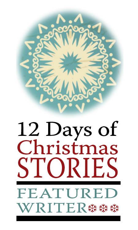 12 days featured writer sticker