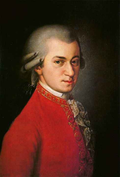 Painting of Mozart by Barbara Krafft (1764–1825) (Image courtesy: Wikimedia Commons