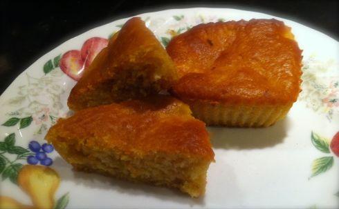 Final product -- Mango Muffins