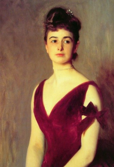 Sargent's painting of Mrs Charles E Inches
