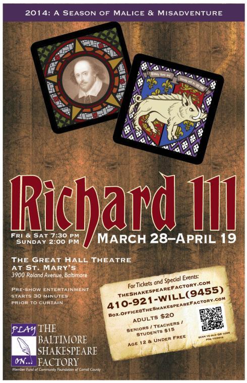Poster for Richard. *