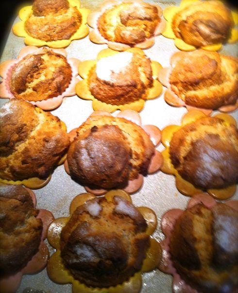 Peanut Butter Muffins baked